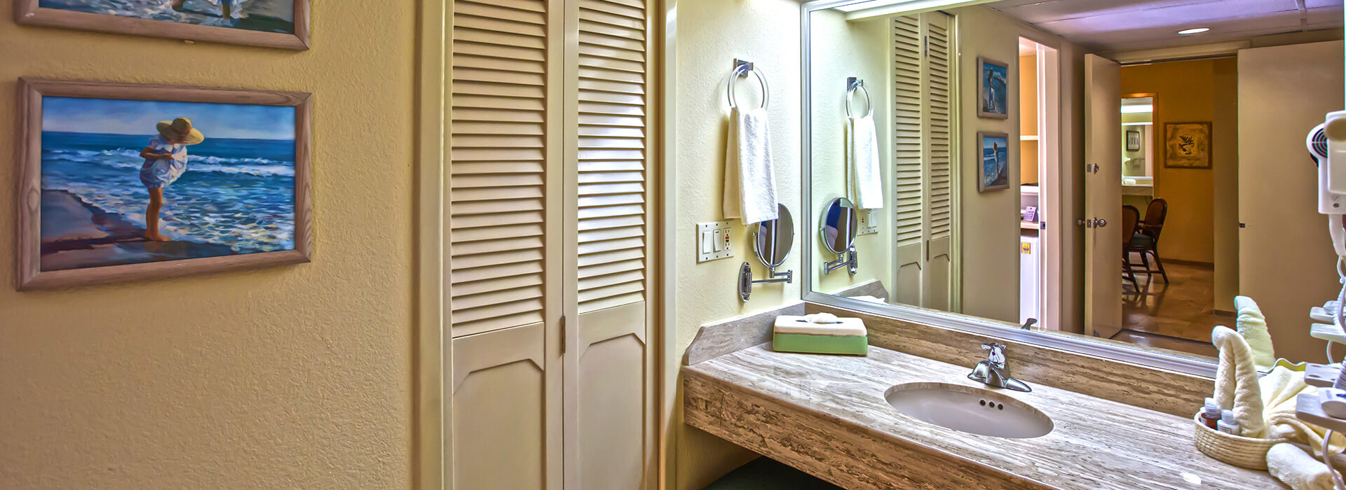 Ocean view villas with one bedroom suite luxury full bathroom in The Royal Sands All Inclusive