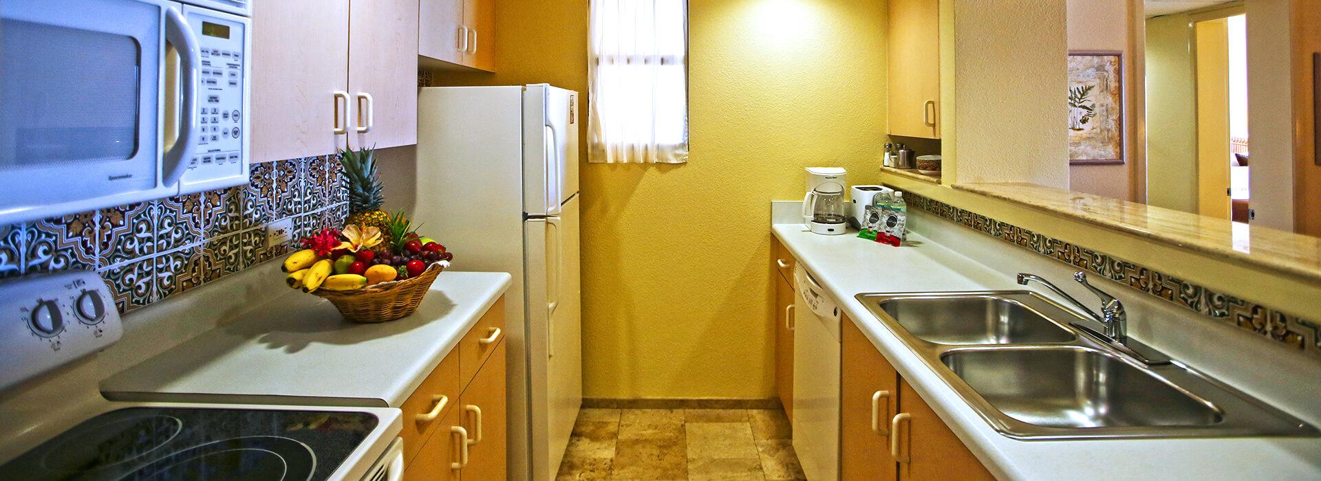 Villas de dos recámaras frente al mar y cocina completa en el Resort Todo Incluido en Cancun