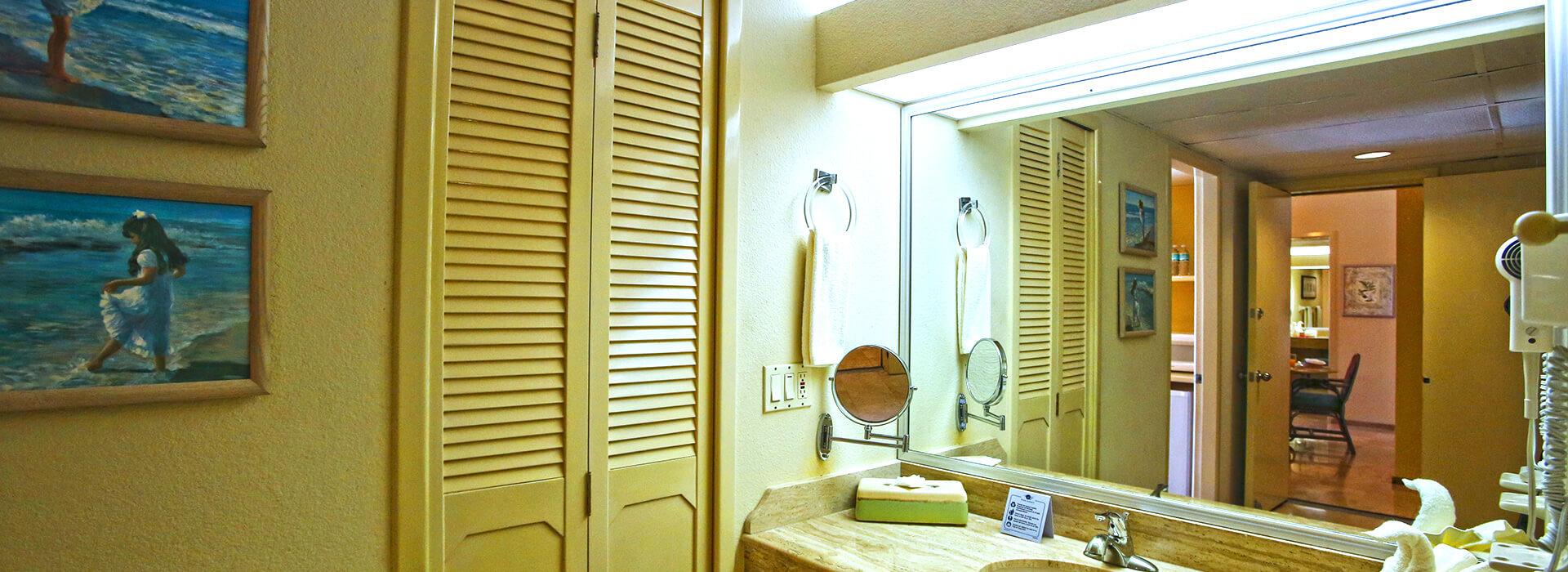 Villas de dos recámaras con vista al mar y baño completo en el Resort Todo Incluido en Cancun