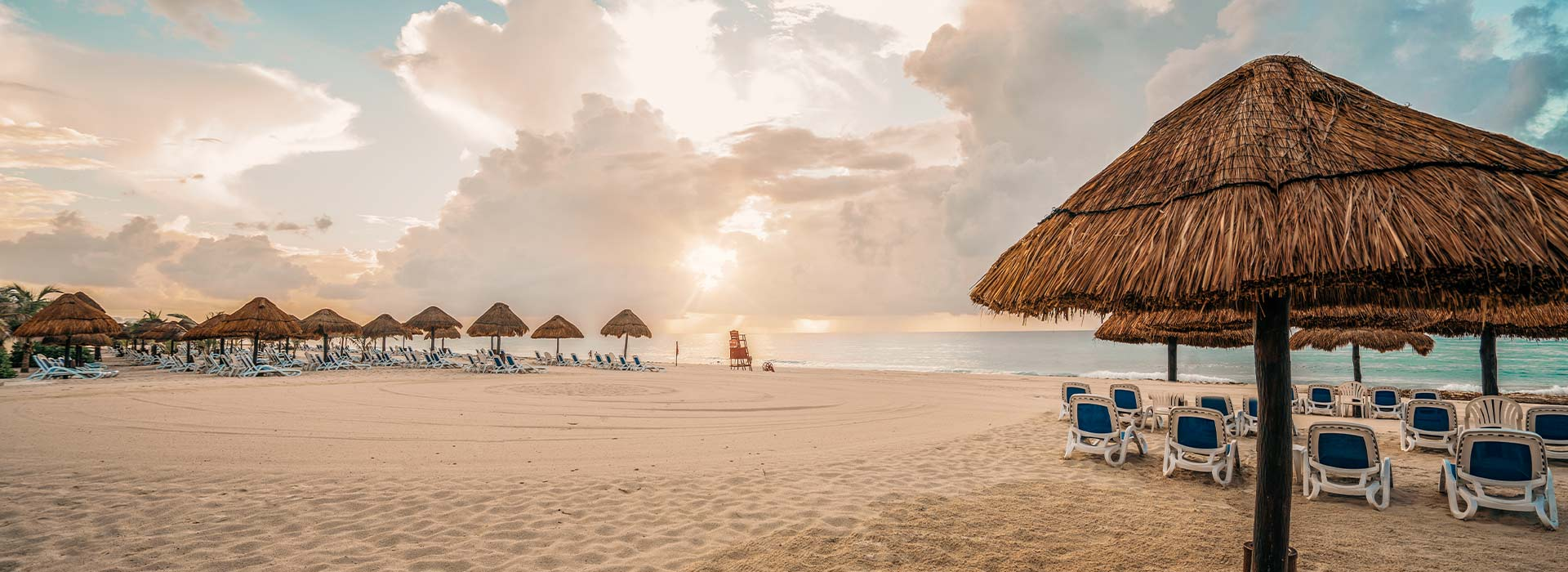 The most beautiful beachfront resort in Cancun with unparalleled oceanviews for a family vacation