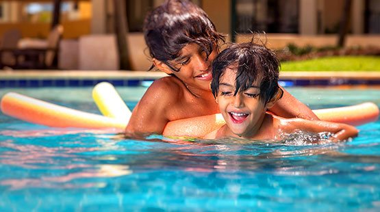 The Royal Sands boasts amazing and huge swimming pools for adults and kids