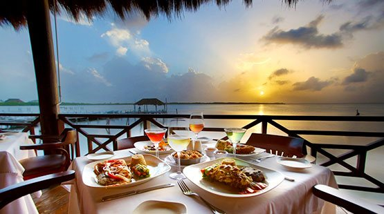 captains cove Cancun top ten restaurant