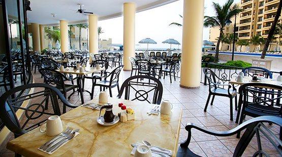 Char Hut is a beachfront restaurant in Cancun