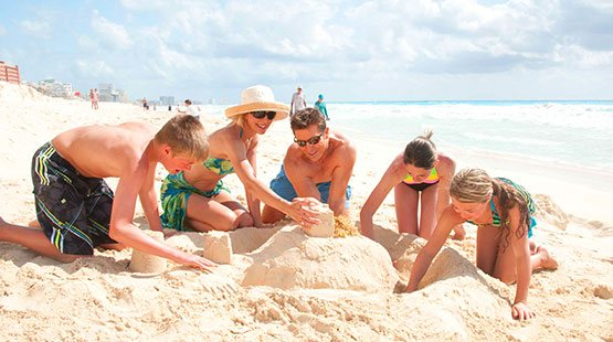The Royal Sands offers the best family vacation experience in Cancun