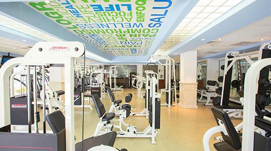 The Royal Sands boasts a fully equipped gym to keep you in shape
