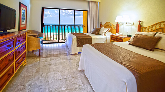 family suite in Cancun resort