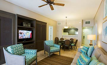 Ocean View villas with two bedroom suites and king size bed in The Royal Sands All Inclusive