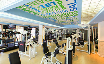 resort en Cancún con gimnasio